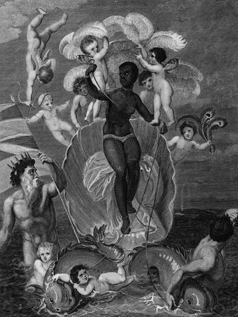 Voyage of Sable Venus, Angola to West Indies, History of All the British Colonies, Edwards, 1801