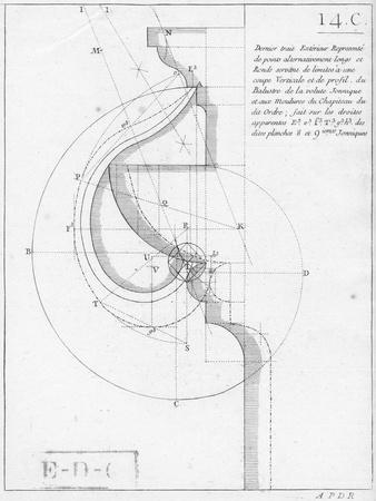The Ionic Capital, Book on Geometry