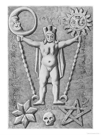 The Baphomet of the Templars, Copy of an Ivory Casket Found at Essarois