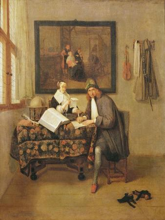 The Studious Life, 1662