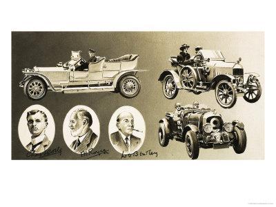 Henry Royce, Charles Rolls, W. O. Bentley - Three Pioneers of the Motor Car