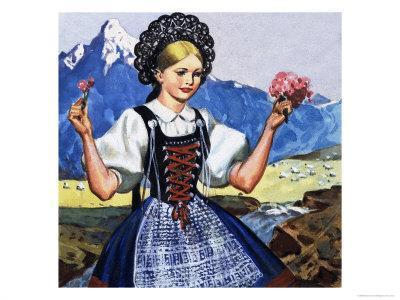 Traditional Costume of Switzerland