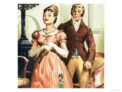 Pride and Prejudice's Elizabeth and Mr Darcy