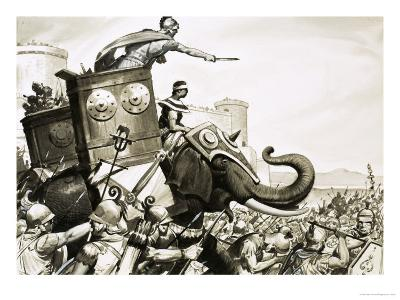 The Rise and Fall of Carthage: The Cartheginian Secret Weapon - Elephants