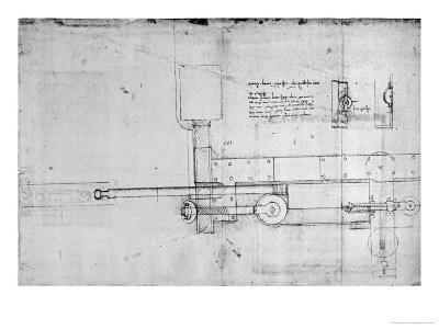 Diagram of a Mechanical Bolt