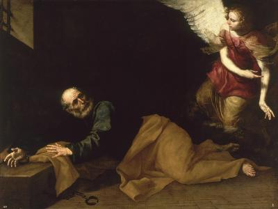 St. Peter Freed by an Angel, 1639