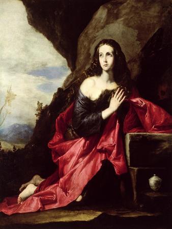 St. Mary Magdalene or St. Thais in the Desert, c.1640-41