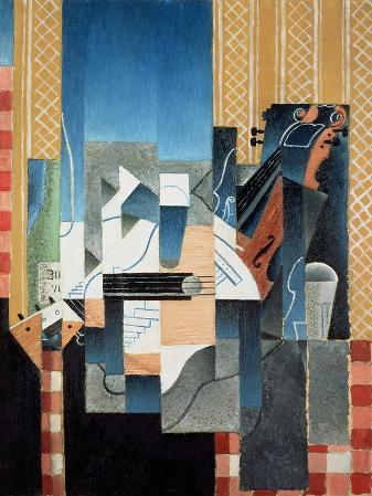 Still Life with Violin and Guitar, 1913