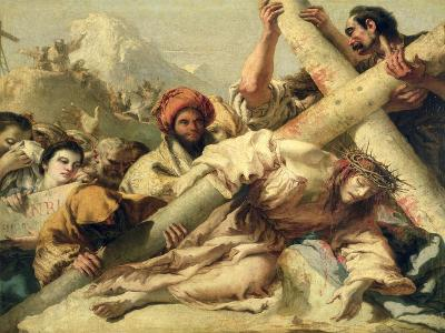 Christ's Fall on the Way to Calvary, 1772