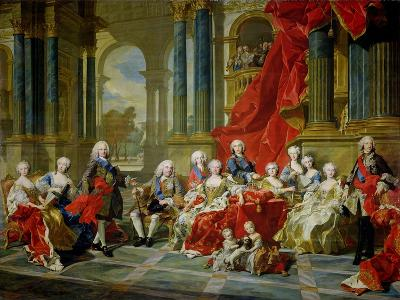 The Family of Philip V, 1743