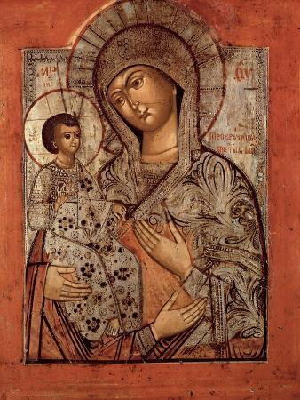 Icon of the Blessed Virgin with Three Hands