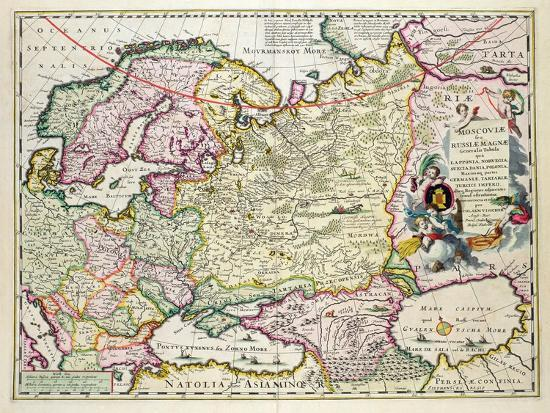 Map Of Asia Minor.Map Of Asia Minor Norway Sweden Denmark Lapland Poland Turkey Russia And Moscow C 1626