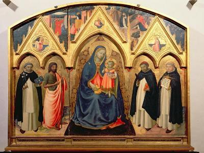 Virgin and Child, St. John the Baptist, St. Dominic, St. Peter the Martyr and St. Thomas Aquinas