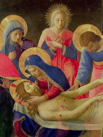 Lamentation over the Dead Christ, 1436-41