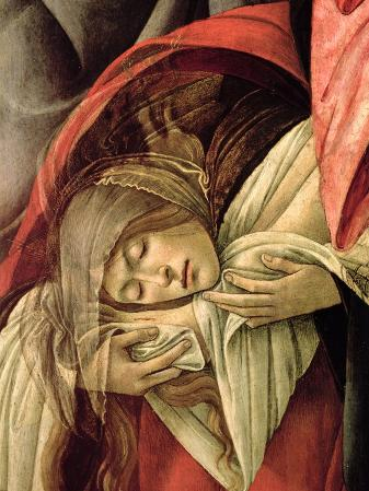 Lamentation over the Dead Christ, Detail of Mary Magdalene, 1490-1500
