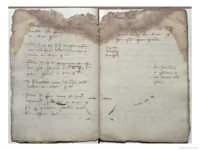 Mercantile Documents, Acceptance of Change of Letters Between Barcelona and Florence, c.1411