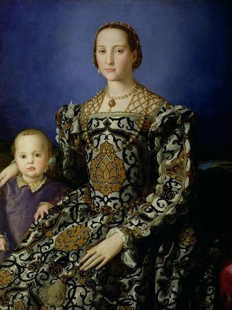 Portrait of Eleanor of Toledo and Her Son, Giovanni de Medici, c.1544-45