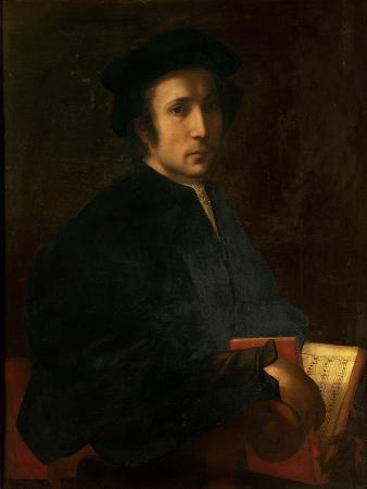 Portrait of the Musician Francesco Dell'Ajolle, c.1518