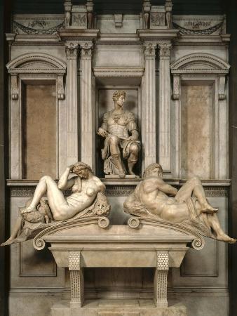Tomb of Giuliano De' Medici, 1520-34