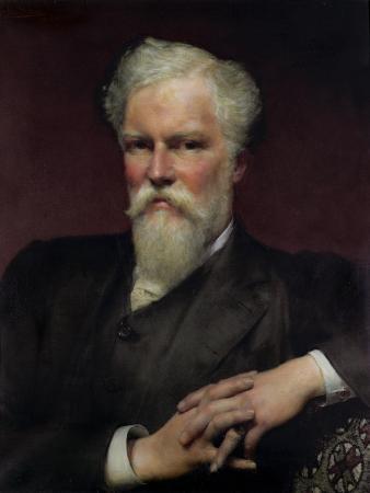Portrait of Sir Alfred Waterhouse, 1891