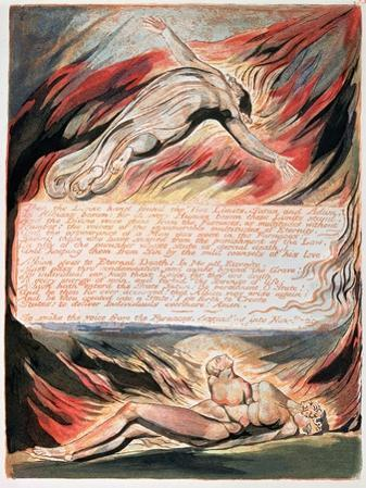Jerusalem the Emanation of Giant Albion, The Divine Hand Found the Two Limits, Satan and Adam, 1804