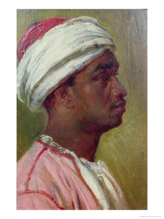 Study of a Nubian Young Man