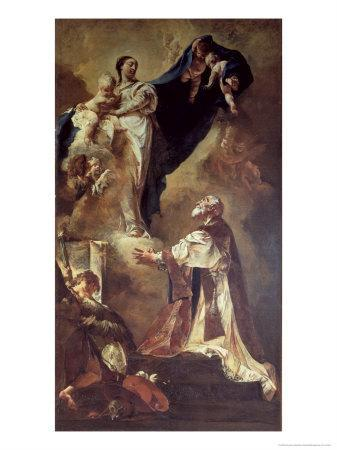 Virgin and Child Appearing to St. Philip Neri, 1725-26