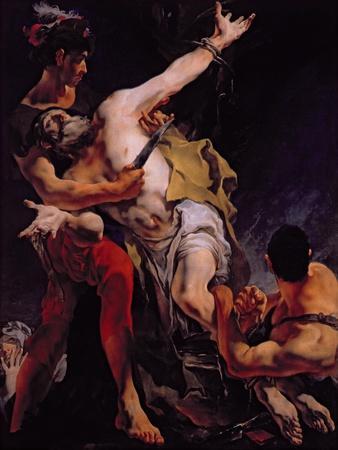 The Martyrdom of St. Bartholomew, 1722