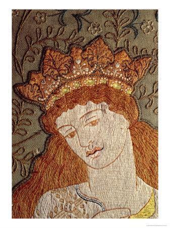 Illustration from Geoffrey Chaucer's Legend of Good Women, c.1875