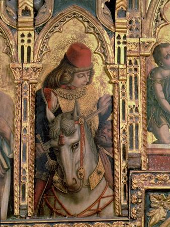 St. Martin, Detail from the San Martino Polyptych