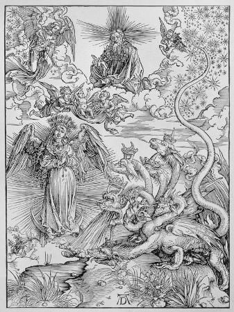 Apocalyptical Scene, from the Apocalypse or The Revelations of St. John the Divine, Pub. 1498
