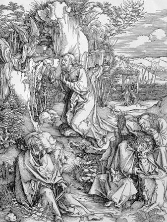 Agony in the Garden from the Great Passion Series, Pub. 1511