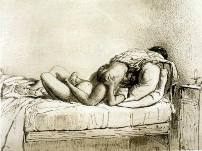 Couple Having Sex, Plate 27 from Liebe