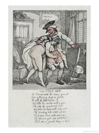 The Toss Off, Poem and Illustrations, 1808-1817