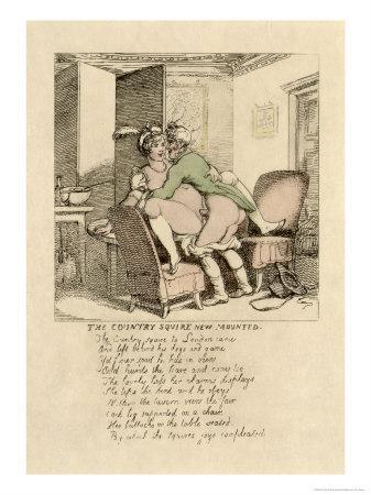The Country Squire's New Mount, Poem and Illustration, 1808-17