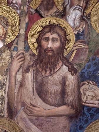 Maesta: St. John the Baptist, 1315