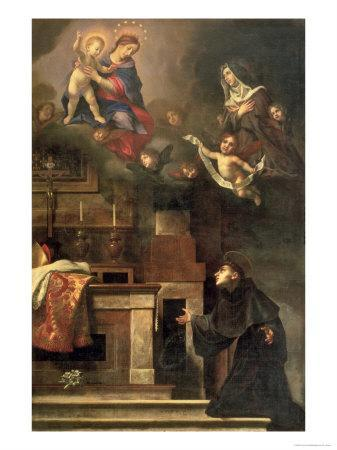 The Virgin Appearing to St. Louis of Toulouse