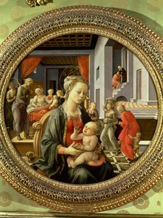 Madonna and Child with Scenes from the Life of the Virgin, 1452