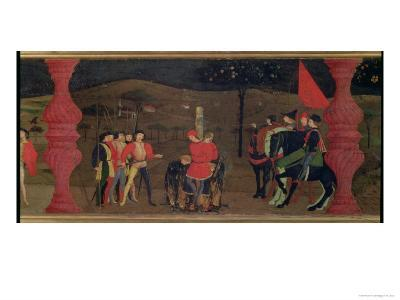 Jewish Pawnbroker and Family Burned at the Stake For Roasting the Consecrated Host, c.1468