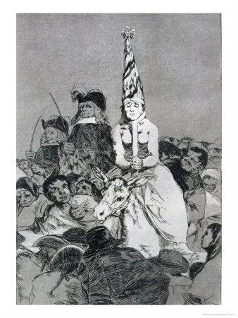 Nothing Could Be Done About It, Plate 24 of Los Caprichos, c.1799
