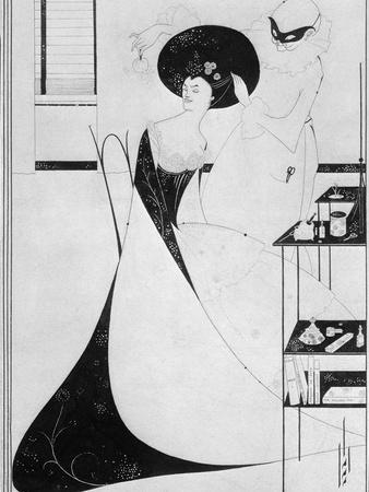 The Toilet of Salome, Illustration For the English Edition of Oscar Wilde's Play 'salome', 1894