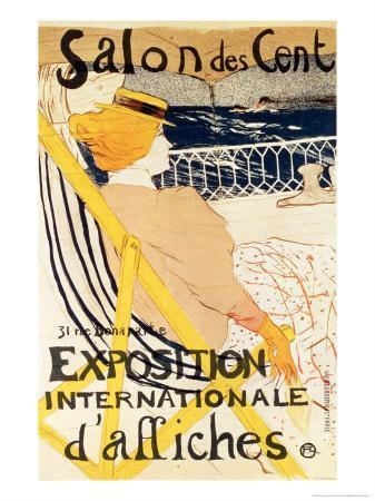 Poster Advertising the Exposition Internationale D'Affiches, Paris, c.1896