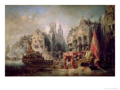 The Arrival of Fernando Alvarez de Toledo, Duke of Alba