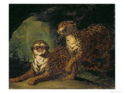 Two Leopards, 1817-20