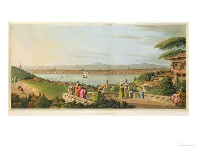 View of Constantinople, Plate 1 from Views in the Ottoman Dominions
