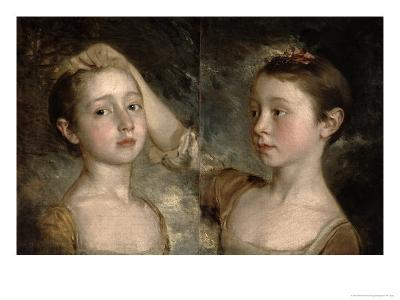 The Painter's Daughters Mary and Margaret, c.1758