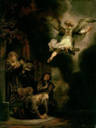 The Archangel Raphael Taking Leave of the Tobit Family, 1637
