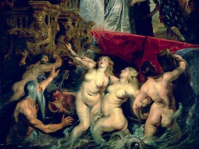 The Medici Cycle: The Disembarkation of Marie de Medici at Marseilles, 1600
