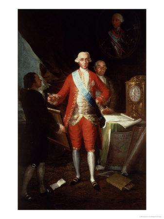 Portrait of Don Jose Monino Y Redondo I, Conde de Floridablanca, 1783
