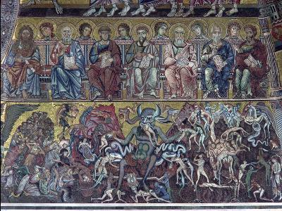 Hell, Detail of the Last Judgement from the Vault Above the Apse, 1225